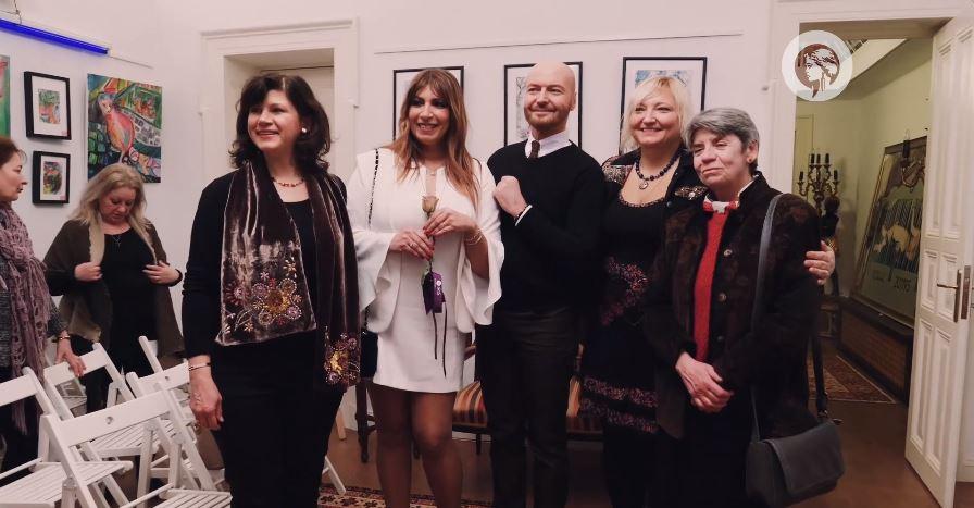 Exposition and Interview with Nicoleta Jutka, Galeria Alxandra's, Romania.