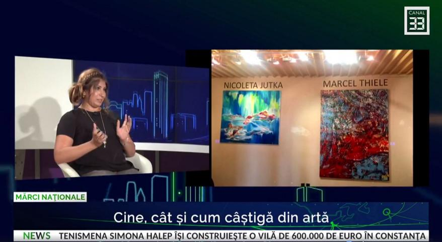 Canal 33 Romania Live Interview with Nicoleta Jutka.